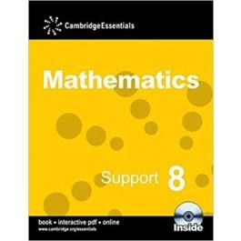 CAMBRIDGE ESS MATHS SUPPORT 8 P BK(CD)13