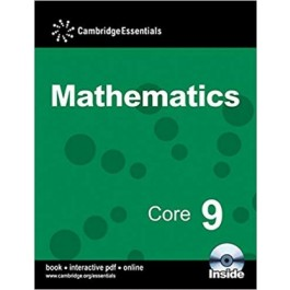 CAMBRIDGE ESS MATHS CORE 9 P BK(CD)'13