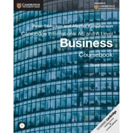 AS and A Level Business Coursebook with CD-ROM 3rd Edition