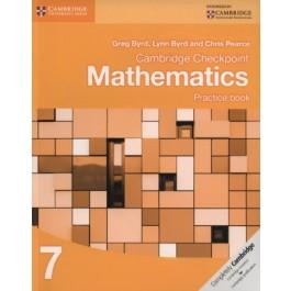 Stage 7 Cambridge Checkpoint Mathematics Practice Book