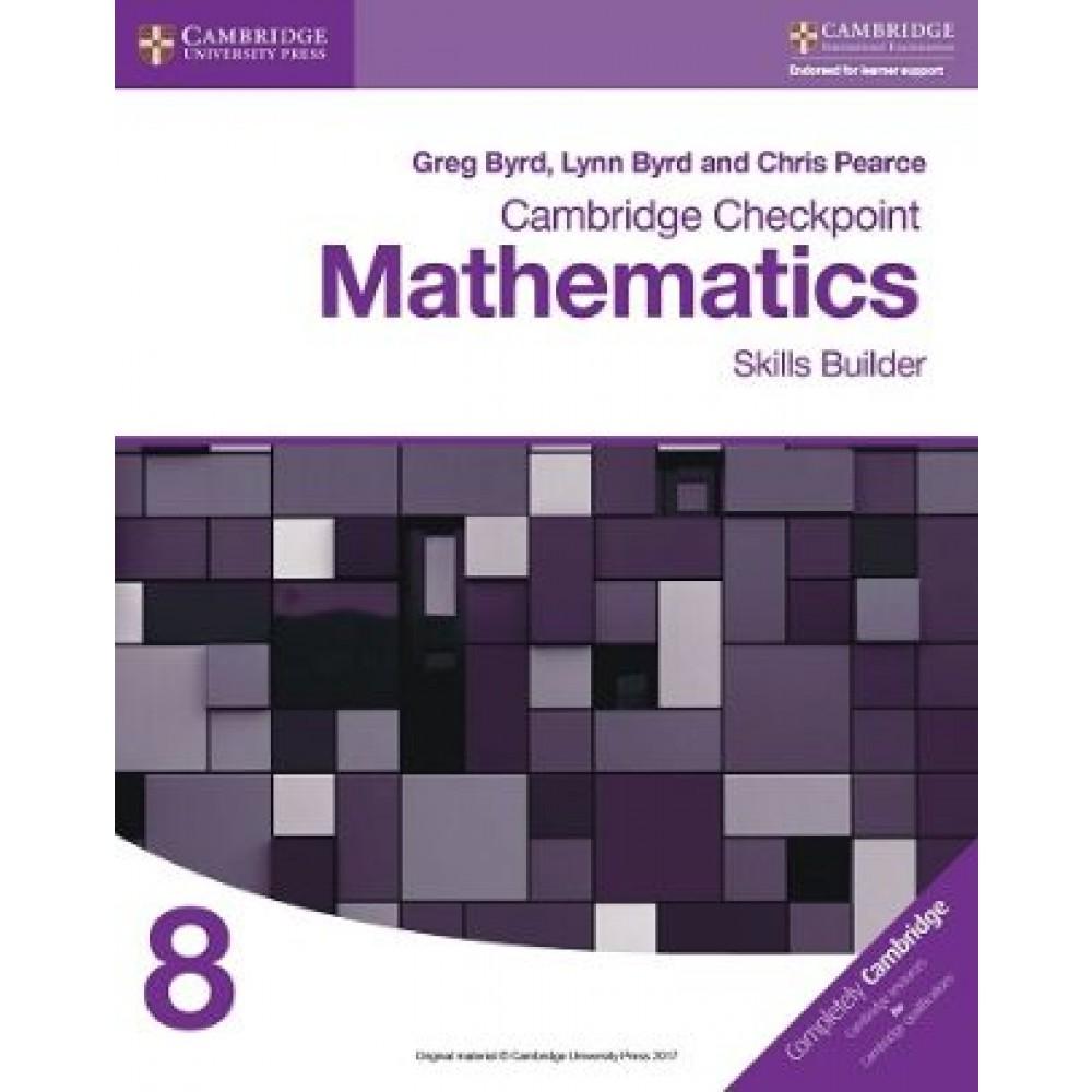 Cambridge Checkpoint Mathematics Skills Builder Workbook 8
