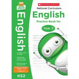 KS2 Year 3 National Curriculum English Practice Book for Ages 6 - 8