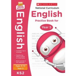 KS2 Year 5 National Curriculum English Practice Book for Ages 9 - 10