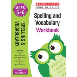 KS1 Year 1 Spelling and Vocabulary Workbook Ages 5 - 6