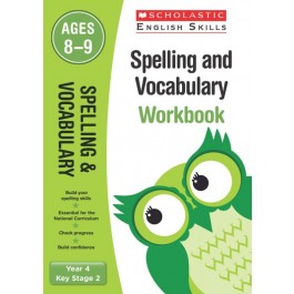 KS2 Year 4 Spelling and Vocabulary Workbook Ages 8 - 9