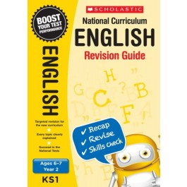 KS1 Year 2 English Revision Guide for  Ages 6 - 7