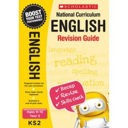 KS2 Year 5 English Revision Guide for  Ages 9 - 10