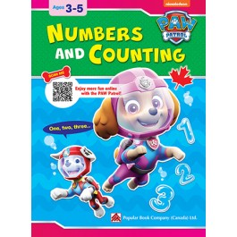 Paw Patrol: Numbers And Counting: Ages 3-5
