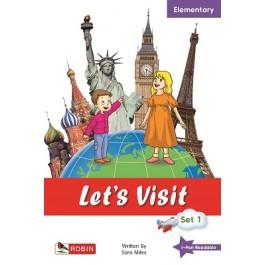 Let's Visit Set 1 (Paris, Moscow, London, New York)