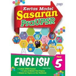 Tahun 5 Sasaran Kertas Model Pra UPSR English