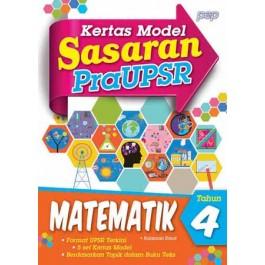 Tahun 4 Sasaran Kertas Model Pra UPSR Matematik
