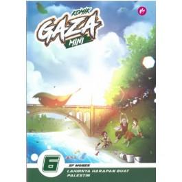 KOMIK GAZA MINI 6 : LAHIRNYA HARAPAN BUAT PALESTIN