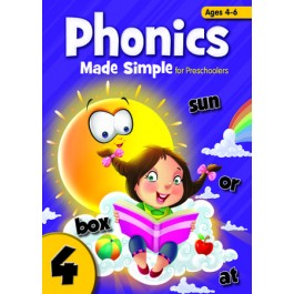 PHONICS MADE SIMPLE FOR PRESCHOOLERS BOOK 4
