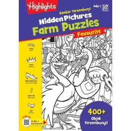 HIDDEN PICTURES THE FARM PUZZLES BOOK 1
