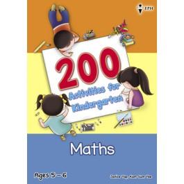 200 Activities for Kindergarten Maths
