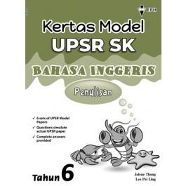Tahun 6 Kertas Model UPSR Bahasa Inggeris-Penulisan