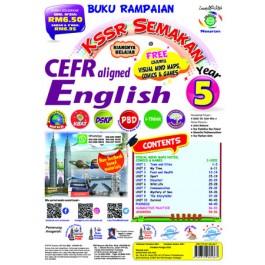 Tahun 5 Buku Rampaian KSSR Semakan English (CEFR)