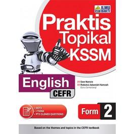 Tingkatan 2 Praktis Topikal KSSM  English (CEFR)
