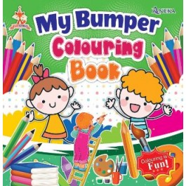 FOX SERIES - MY BUMPER COLOURING BOOK