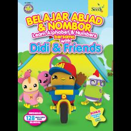 DIDI & FRIENDS : BELAJAR ABJAD & NOMBOR