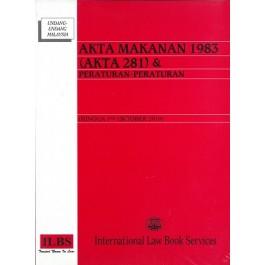 AKTA MAKANAN 1983 (AKTA 281) & PERATURAN-PERATURAN