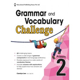 Primary 2 Grammar And Vocabulary Challenge