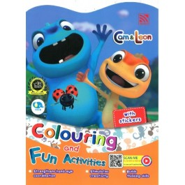 CAM & LEON COLOURING & FUN ACTIVITIES