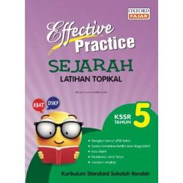 Tahun 5 Effective Practice Latihan Topikal SK Sejarah