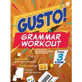 Tingkatan 3 GUSTO! Grammar Workout