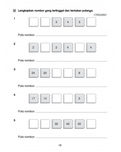 Primary 1 Latihan Topikal Buku Teks Matematik