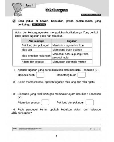 Tahun 2 Buku Latihan Bahasa Melayu