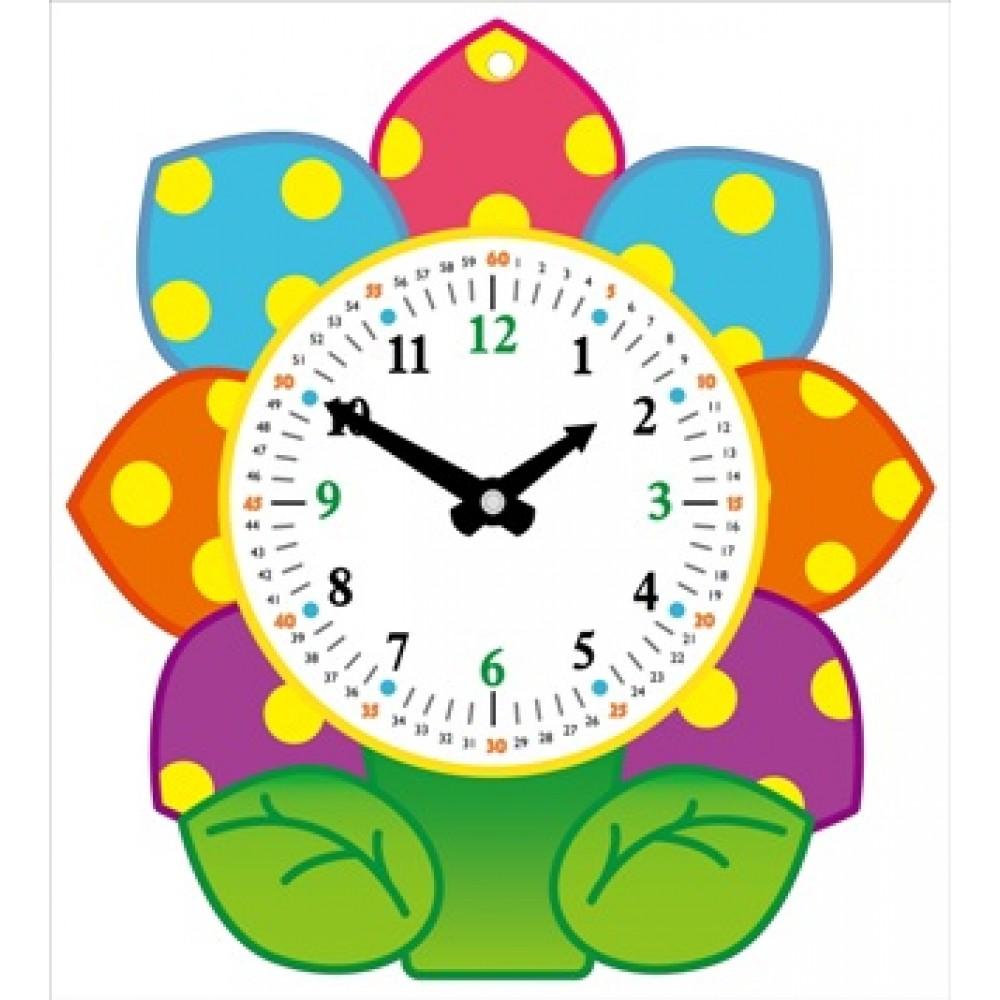 宝宝的时钟-花朵