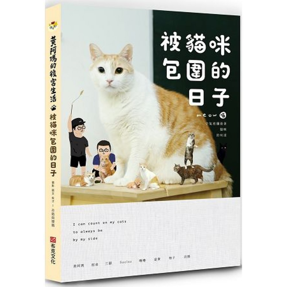 黃阿瑪的後宮生活:被猫咪包围的日子