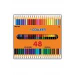 COLLEEN 785 COLOURED PENCILS - 24 PCS, 48 COLOURS
