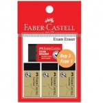 FABER-CASTELL EXAM ERASER 3+1 GOLD EDITION