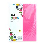 POP ARTZ NEON EVA FOAM A4 5 COLOURS 5 PIECES