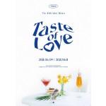 TWICE - 10th Mini Album: Taste of Love (Fallen - Blue Ver.)