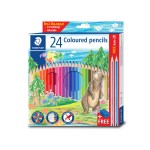 STAEDTLER COLOURED PENCILS - 24 COLOURS