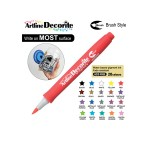 ARTLINE DECORITE BRUSH EDF-F, RED