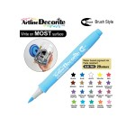 ARTLINE DECORITE BRUSH EDF-F, PASTEL BLUE