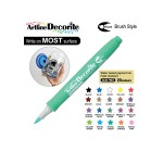 ARTLINE DECORITE BRUSH EDF-F, PASTEL GREEN