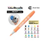 ARTLINE DECORITE BRUSH EDF-F, PASTEL ORANGE