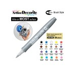 ARTLINE DECORITE BRUSH EDFM-F, SILVER