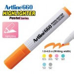 ARTLINE EK-660 PASTEL HIGHLIGHTER 1-4MM PASTEL ORANGE