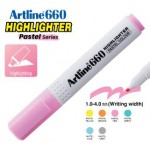 ARTLINE EK-660 PASTEL HIGHLIGHTER 1-4MM PASTEL PINK
