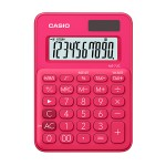CASIO CALCULATOR MS-7UC-RD, RED