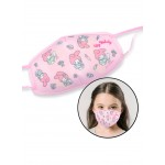 SANRIO MELODY COTTON REUSABLE KIDS FACE MASK 10.5*15*0.4CM