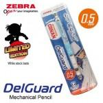 ZEBRA DETECTIVE CONAN DELGUARD MECHANICAL PENCIL 0.5MM LIGHT BLUE