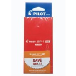Pilot BP-1RT Ball Pen Fine Red in Dozen Pack (12 pieces)