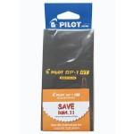 Pilot BP-1RT Ball Pen Medium Black in Dozen Pack (12 pieces)